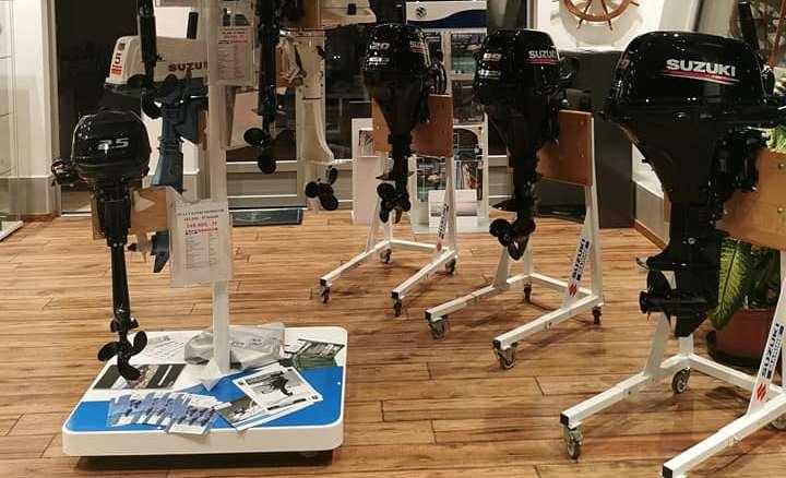 Csónakmotorok készletről DF2,5S -től